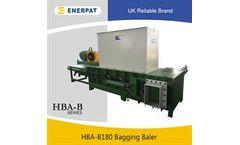 Enerpat - Model HBA-B180 - Rice Hull Baling Press
