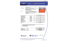 HPS 2 Orange Needlepunched Nonwoven - Datasheet