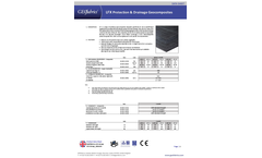LFX Protection & Drainage Geocomposites - Datasheet