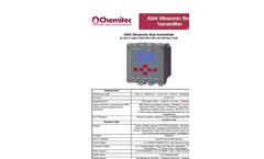 Model 4204 - Ultrasonic Flow Transmitter– Brochure