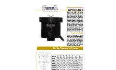 Model AP - Dry Air Cleaners - Datasheet