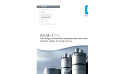 ANAFIT®.AC - The biological wastewater treatment process uses state-of-the-art  anaerobic reactors for energy recovery.