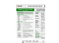 Fixed Axle Tanks - EZ Clean (Safety Vapor) Brochure