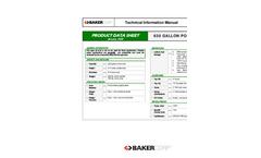 Forkliftable - 630 Gallon Forkliftable Brochure (PDF 75.2 KB)