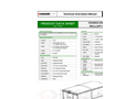 Standard - Consolidated Side Flip Top Brochure (PDF 157 KB)