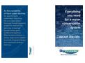 SkyHarvester - Water Harvesting Tri-Fold Brochure