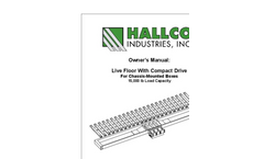Hallco - Live Floor With Compact Drive for Chassis-Mounted Boxes - Manual