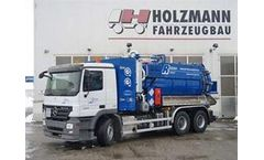 Suction Vehicle with Highest Pressure System