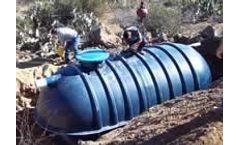 Fiberglass Septic Tanks