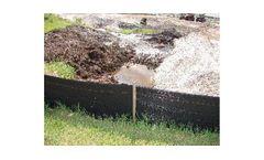 Silt Fence - Geotextile, Silt Barriers, Turbidity Curtain