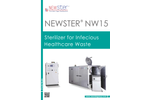 Newster NW15 Sterilizer for Hospital Solid Waste - Datasheet