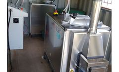 Newster - Model Sanifyco-19 - Solid and Liquid Waste Mobile Sterilization Unit