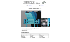 Terier - Two Shaft Shredder Medium Size - Datasheet