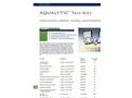 Aqualytic Test-Kits - Brochure