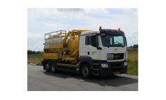 Koks - Model EcoVac 12,0/316 ADR - Vacuum Truck