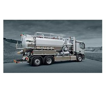 Model ROM 900 - Sewer Cleaning Trailer