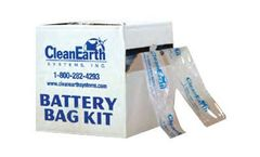 Clean Earth System - Battery Bag Kits