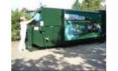 Meulenbroek Campsite Waste Compactor - Video