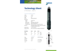 VanEssen - Model CTD-Diver - Submersible Datalogger - TechSheet