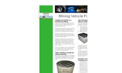 Notox Mining Vehicle Applications Brochure