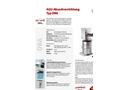 AGU - Model DBA - Bagging Machine Brochure