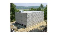Braithwaite - Hot Pressed Steel Sectional Storage Tanks