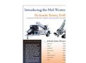 Hydraulic Rotary Drill  HRM110- Brochure