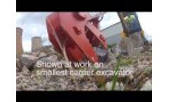 Model BAV3 - Excavator Mounted Crusher-Video