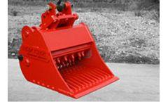 BAV - Model CB2 - Crusher Bucket