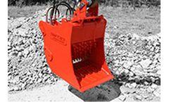 BAV - Model CB3 - Crusher Bucket