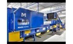 MACHINEX Optical Sorting Machine MachHyspec Video