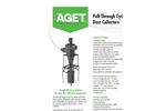 AGET - Model DUSKTOP - Pull-Through Cyclone Dust Collectors - Brochure
