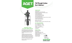 AGET - Model SN Series - Pull-Through Dust Collectors - Brochure