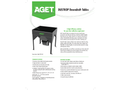 AGET DUSTKOP - Downdraft Tables, Benches, & Booths