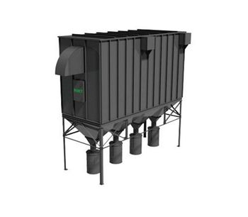 AGET FILTERKOP - Model FH Series - Baghouse Collector (Modular Unit)