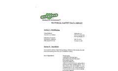 SiltShield - Extruded Sediment Filter Fence Datasheet MSDS