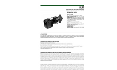 Model ALME - ALPE - Electronic In Line Pumps Brochure