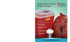 Brochure - Medical Waste for the 21 Century