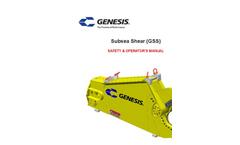 Model GSS - Subsea Shears Brochure