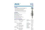 ALIA - Model AMF100 Series - Insertion Type Electromagnetic Flowmeter - Brochure