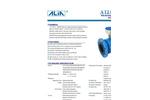 Alia Electromagnetic Flowmeter,flange type,AMF900 Series(Waste water)
