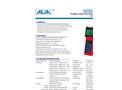 Alia - Model AUF610 Series - Ultrasonic Flowmeter