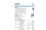 Alia HART Vortex Flowmeter,AVF7000 -Steam flow meter ,GAS FLOW