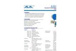 ALIA Electromagnetic Flowmeter,Battery powered Converter,AMC4000