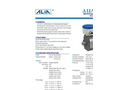 Alia Electromagnetic Flowmeter AMF300 Threaded type,water measurement