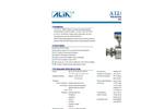 Alia Sanitary type Electromagnetic Flowmeter AMF601 ,drink liquid measurement