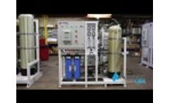 Ampac USA Seawater Desalination SW3000-LX Video