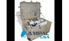 Emergency Portable Seawater Desalination Unit from Ampac USA - Video