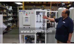 Ampac USA Seawater Desalination Watermakers SWRO4500 - Video