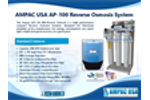 AMPAC USA AP-100 Commercial Reverse Osmosis System - Brochure